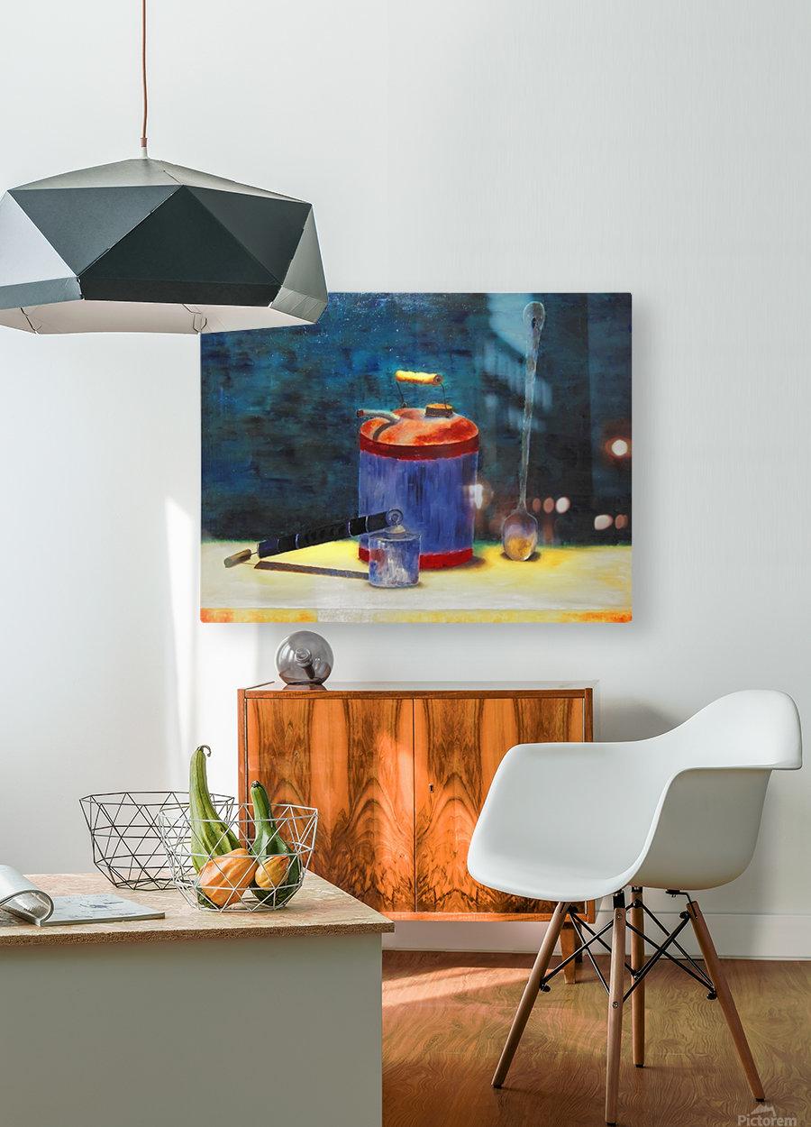 Oldtimers  HD Metal print with Floating Frame on Back