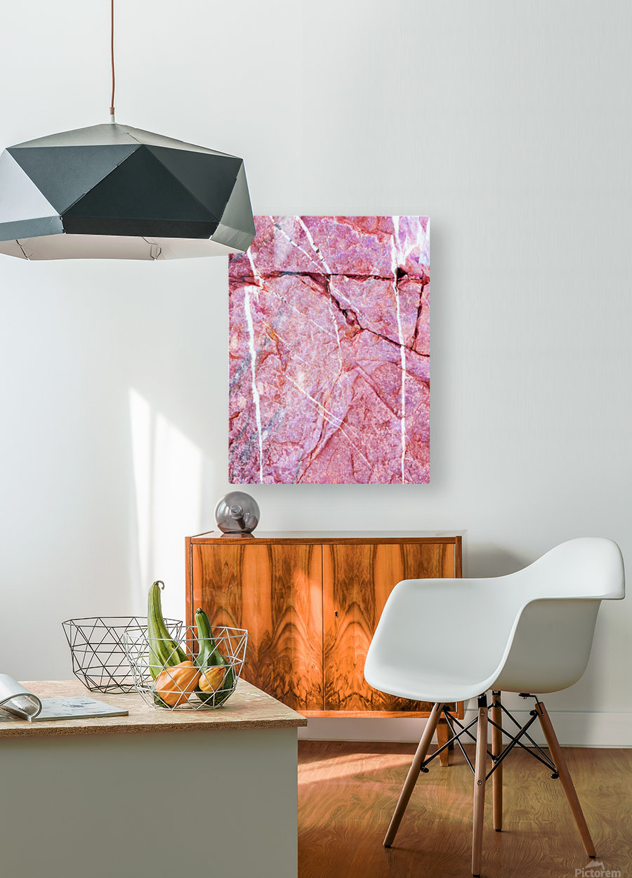 Australia Rocks - Abstract 7  HD Metal print with Floating Frame on Back