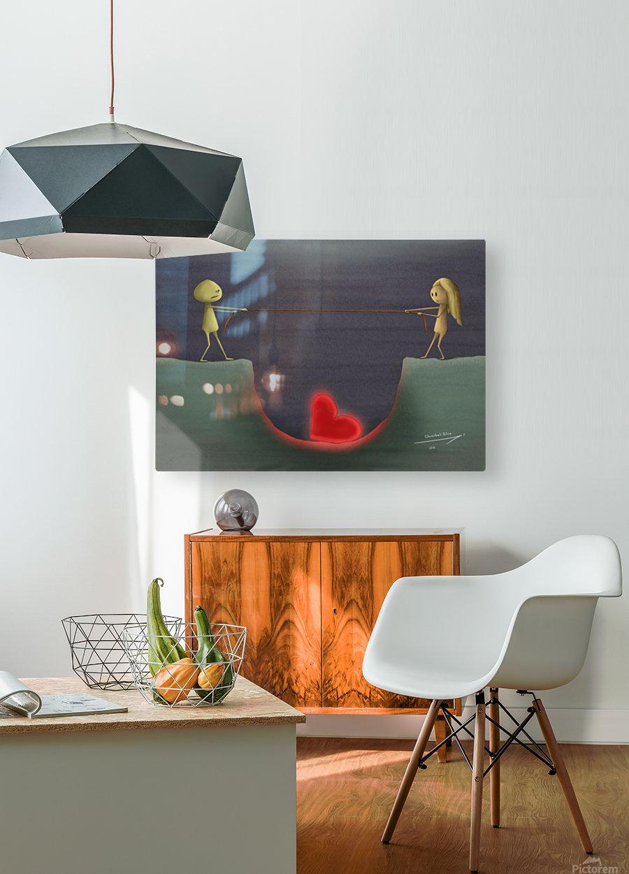 Charbel Elia  HD Metal print with Floating Frame on Back