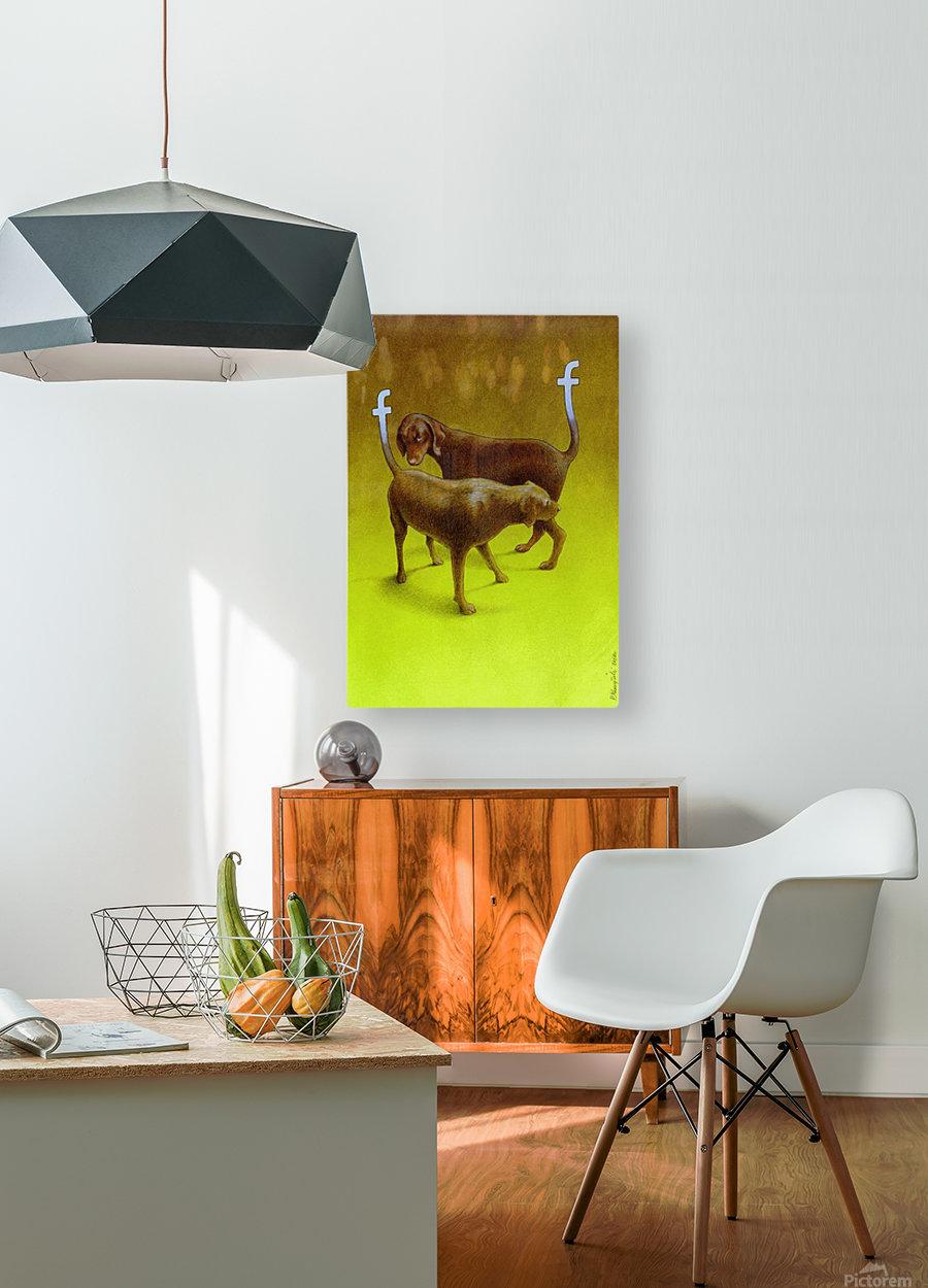 PawelKuczynski54  HD Metal print with Floating Frame on Back