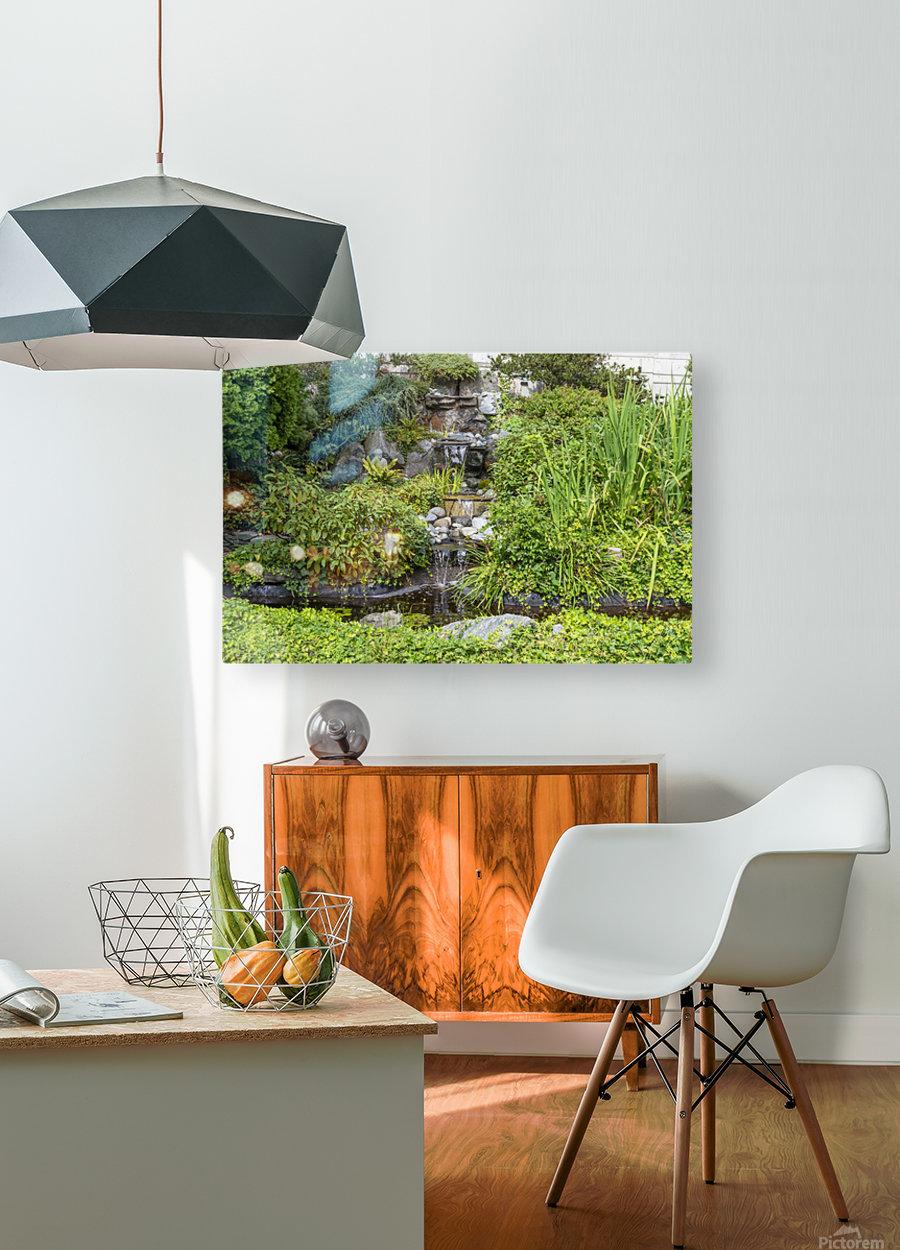 IMGP4925  HD Metal print with Floating Frame on Back