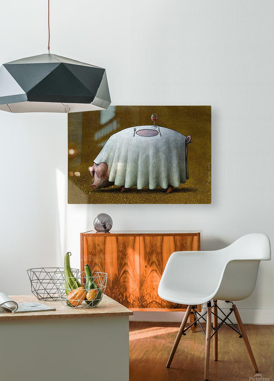 PawelKuczynski60  HD Metal print with Floating Frame on Back