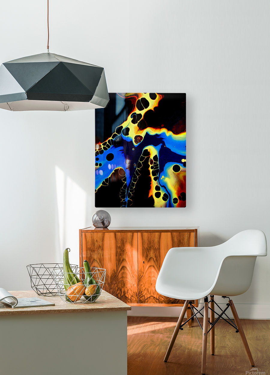 Moonshadow  HD Metal print with Floating Frame on Back