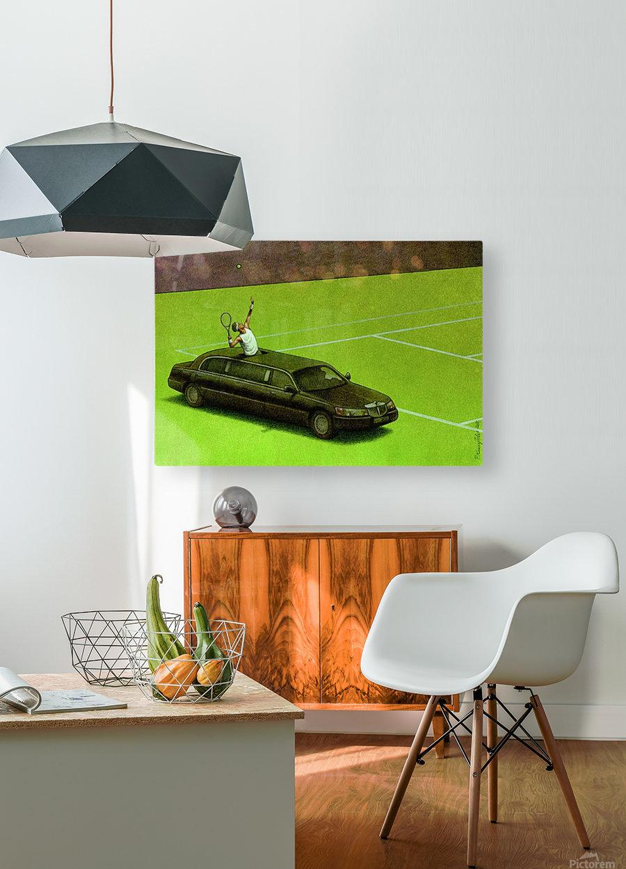 PawelKuczynski66  HD Metal print with Floating Frame on Back