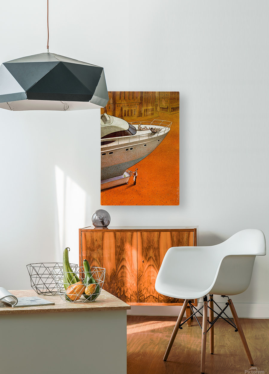 PawelKuczynski70  HD Metal print with Floating Frame on Back