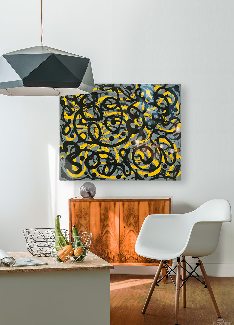 Ecstatic Daylight  HD Metal print with Floating Frame on Back