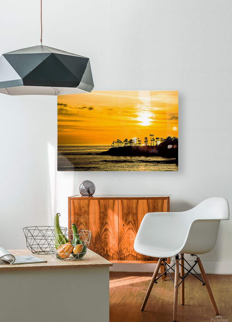 California Dreamin  HD Metal print with Floating Frame on Back