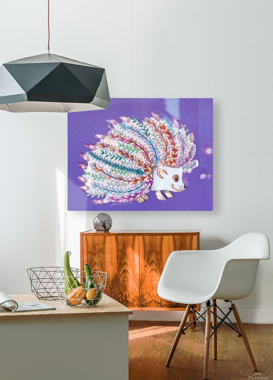 Ericius   HD Metal print with Floating Frame on Back