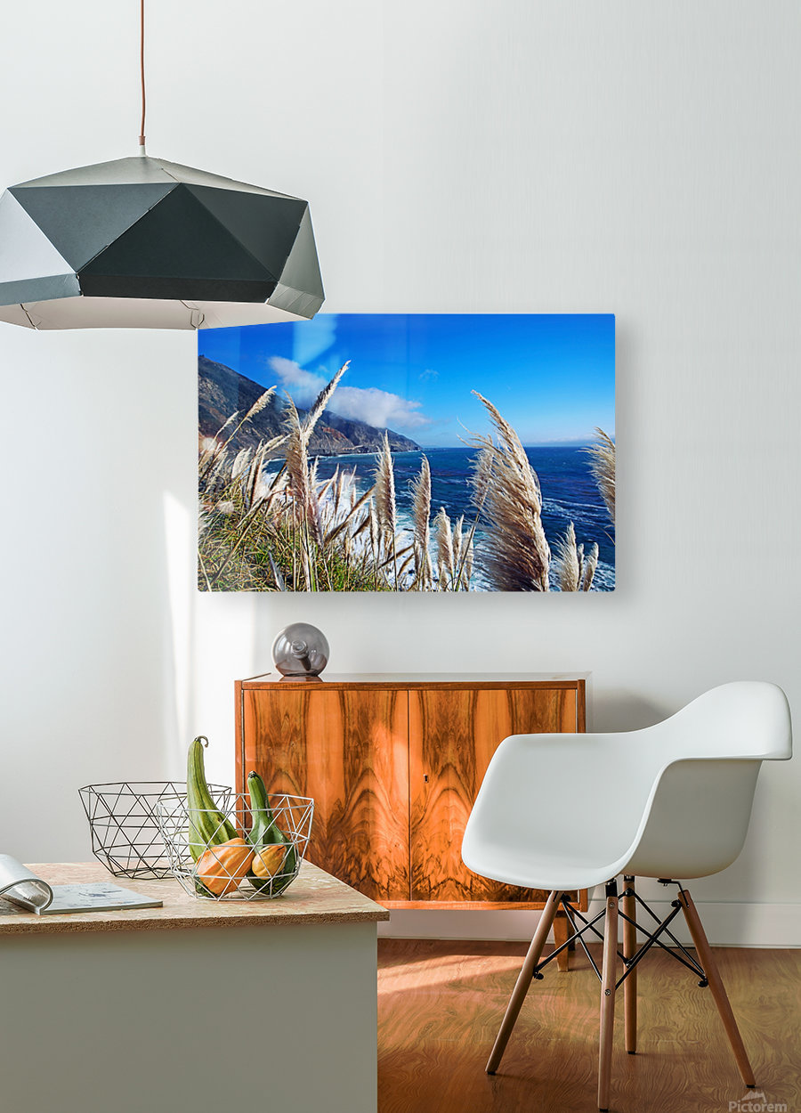 In the wind  HD Metal print with Floating Frame on Back