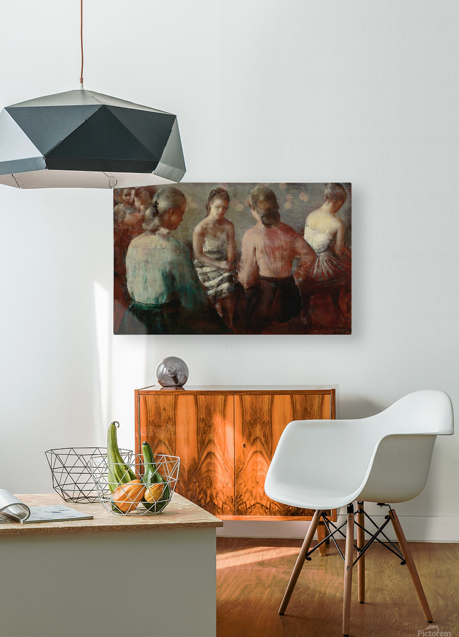 The Gathering  HD Metal print with Floating Frame on Back