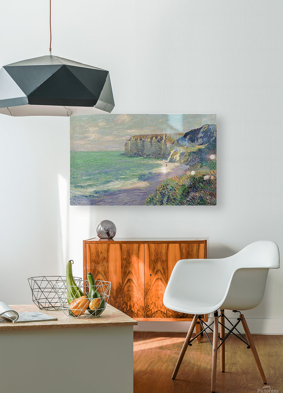 The Cliffs of Saint-Jouin  HD Metal print with Floating Frame on Back