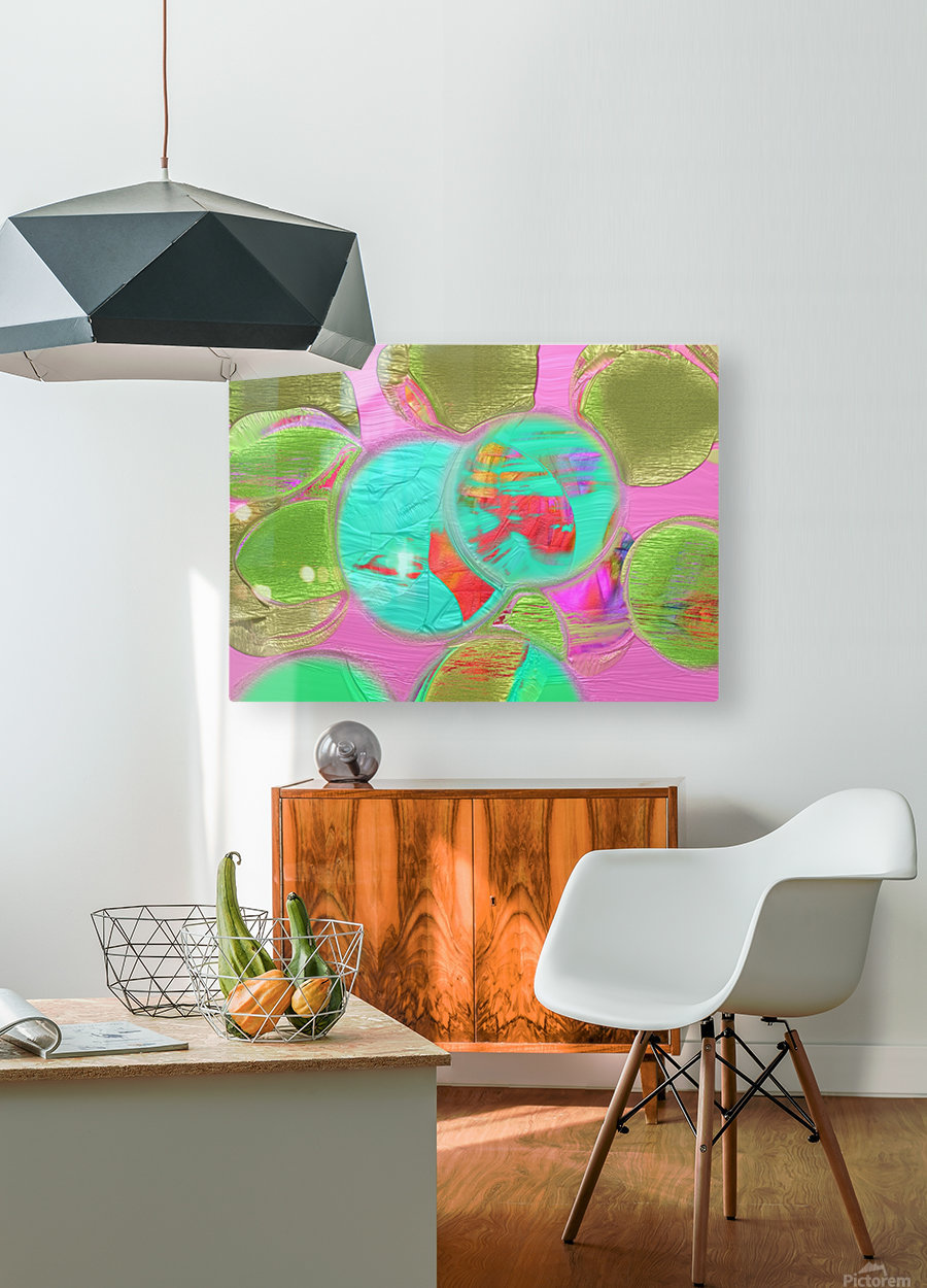 95  HD Metal print with Floating Frame on Back