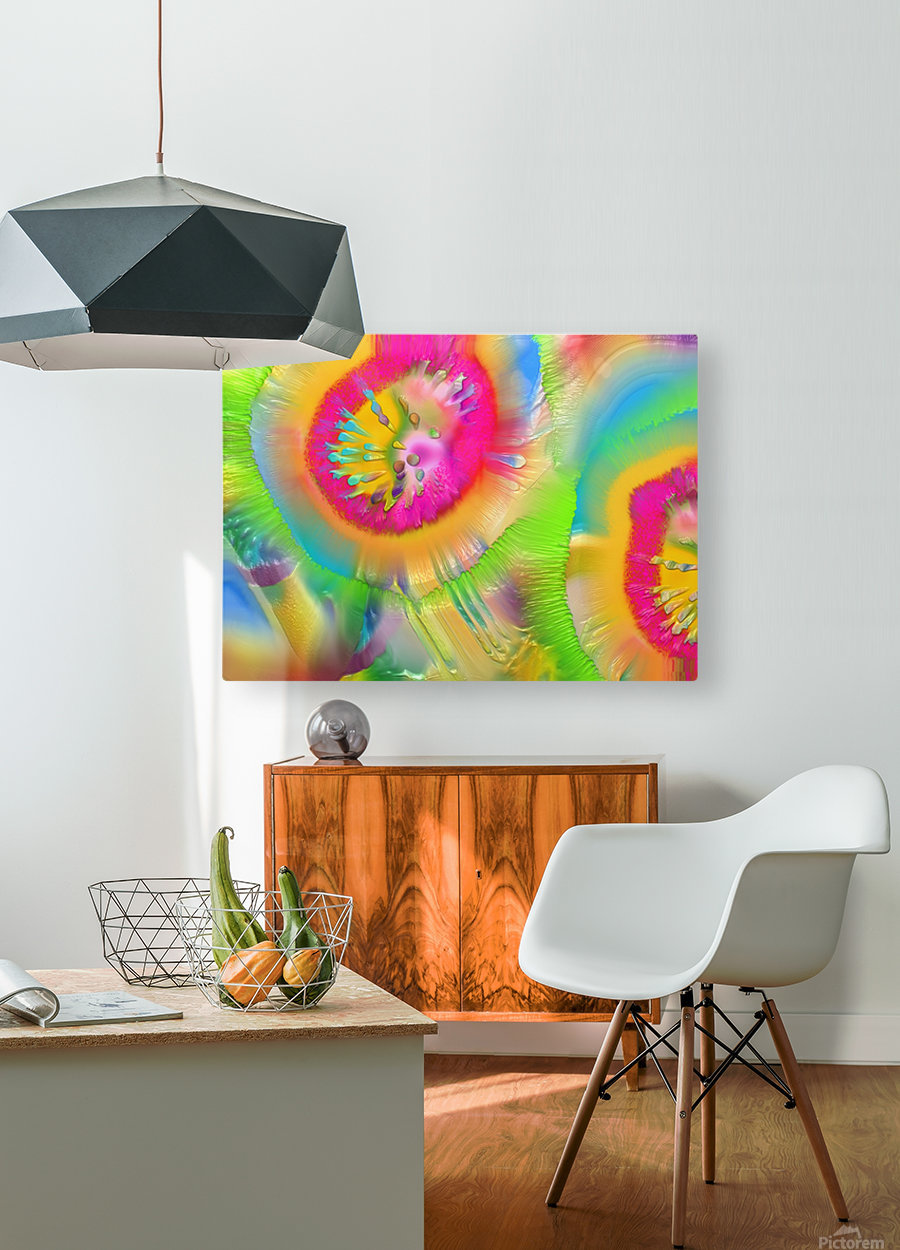 105  HD Metal print with Floating Frame on Back