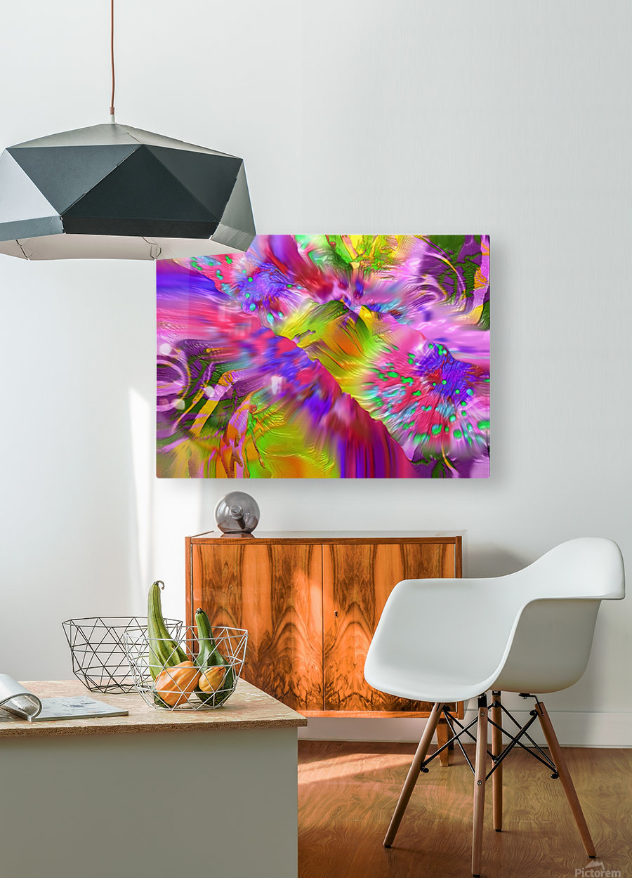 131  HD Metal print with Floating Frame on Back