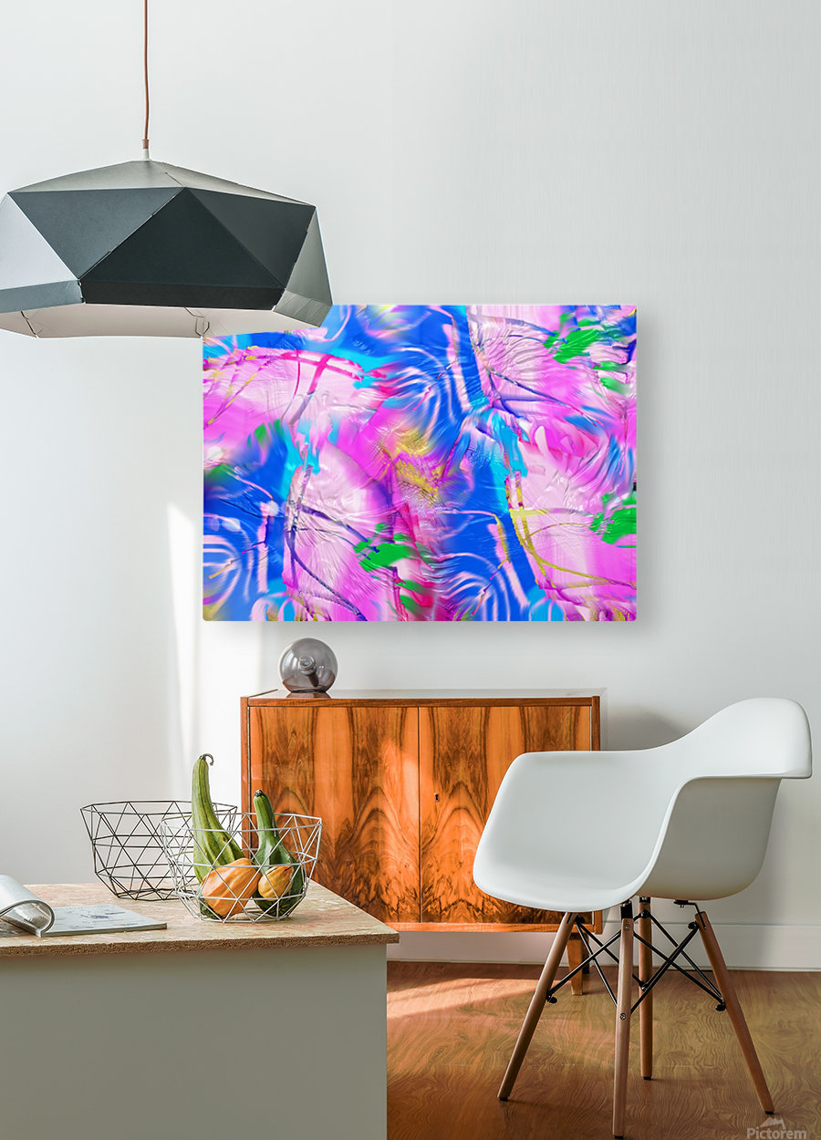 159  HD Metal print with Floating Frame on Back