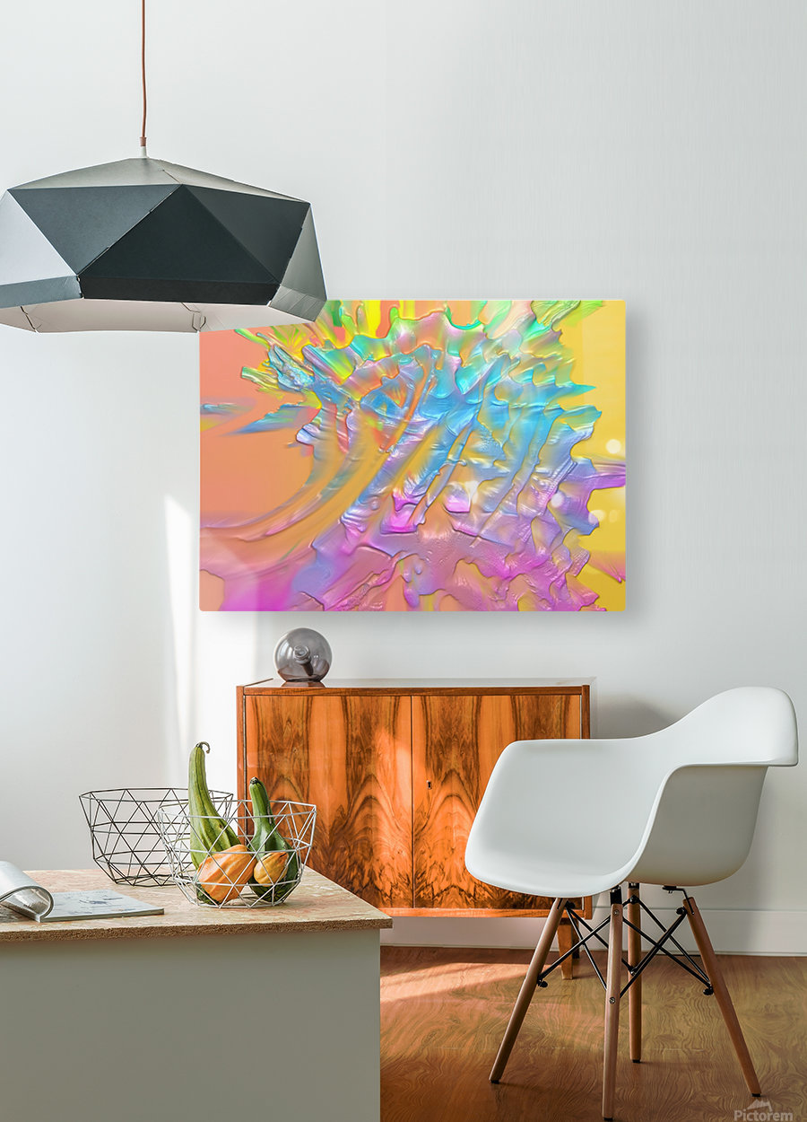 43  HD Metal print with Floating Frame on Back