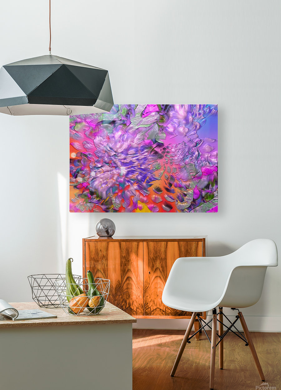 37  HD Metal print with Floating Frame on Back