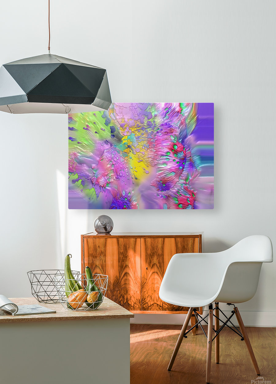 189  HD Metal print with Floating Frame on Back