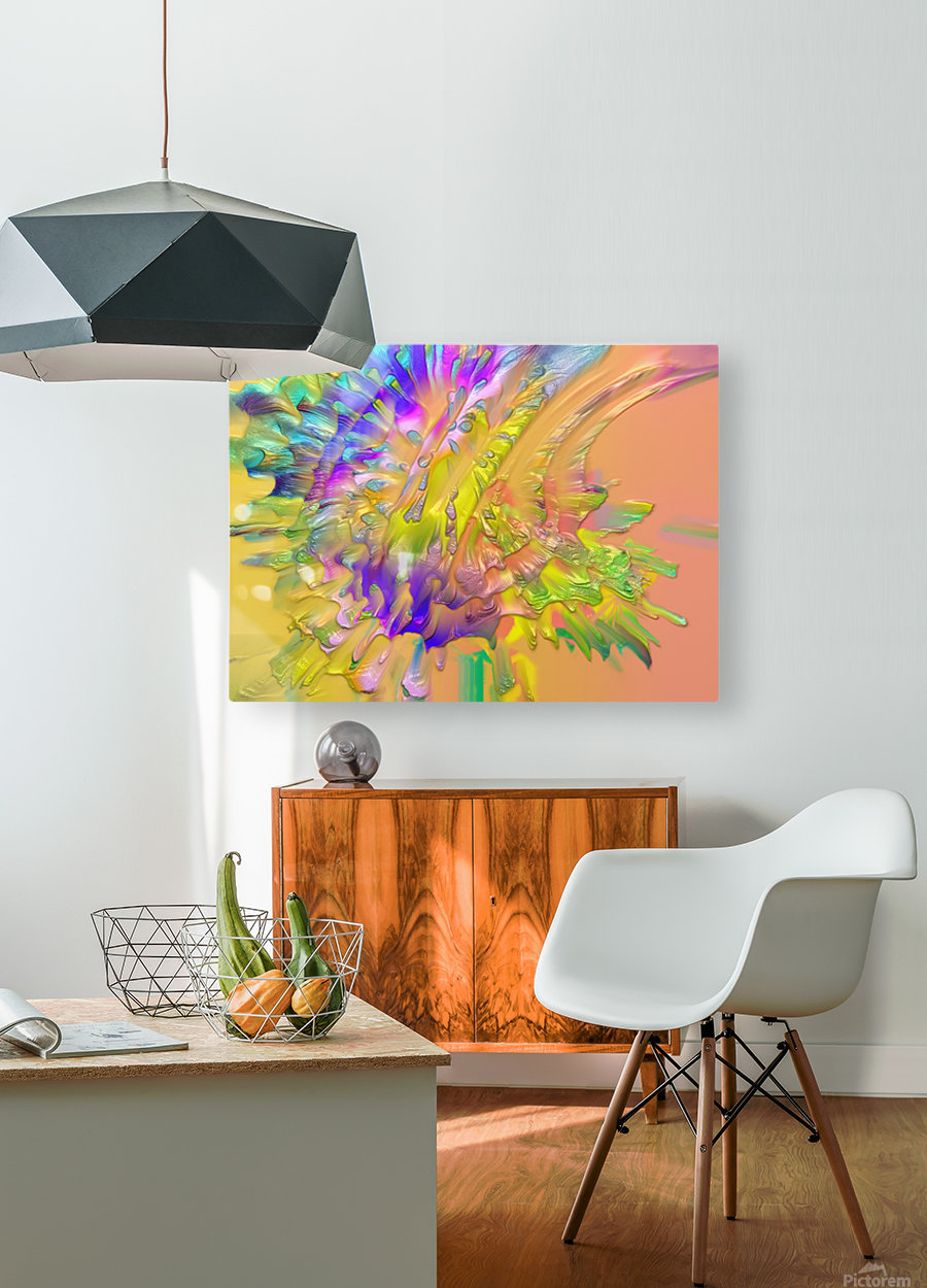 206  HD Metal print with Floating Frame on Back
