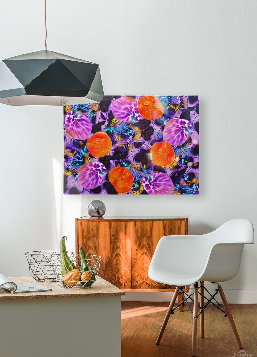 280  HD Metal print with Floating Frame on Back
