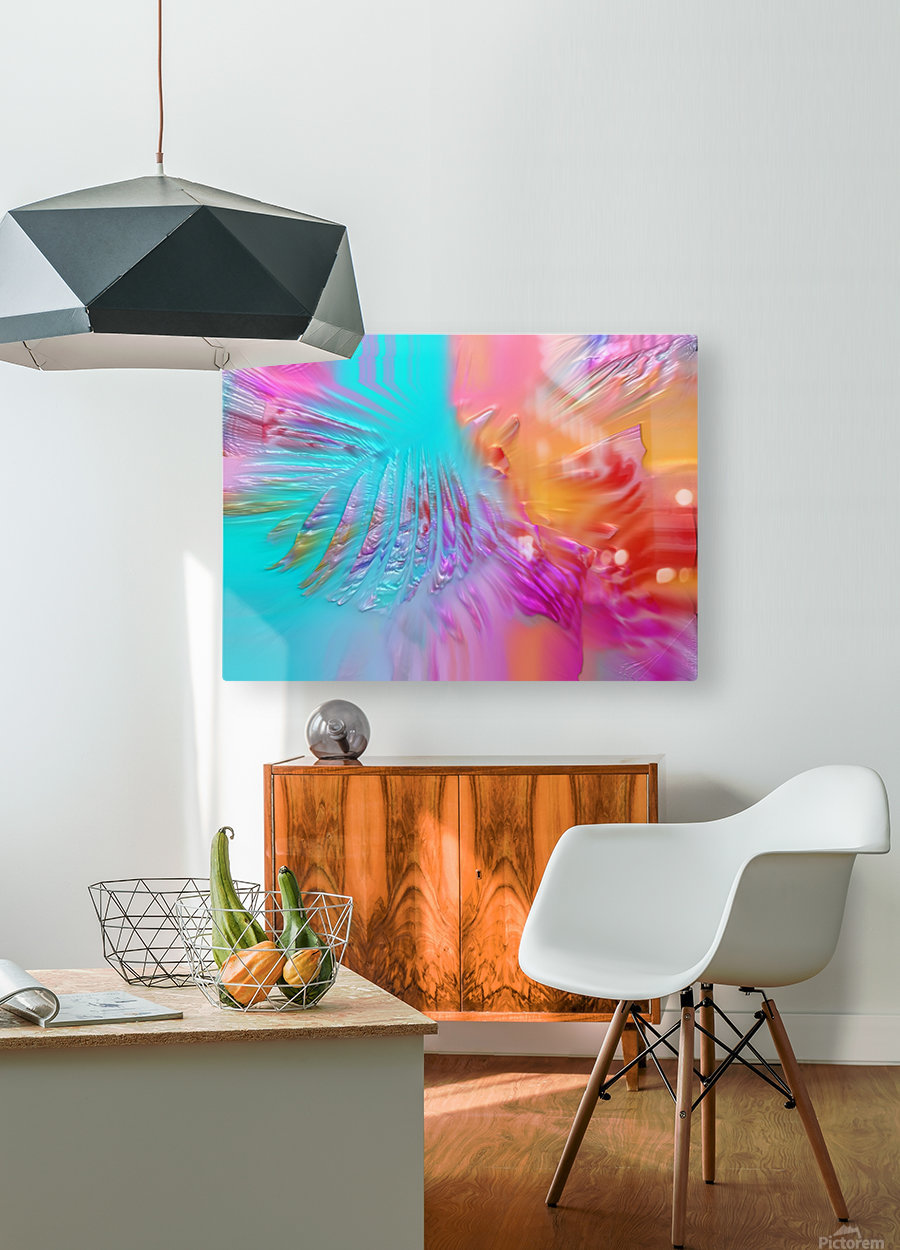 287  HD Metal print with Floating Frame on Back
