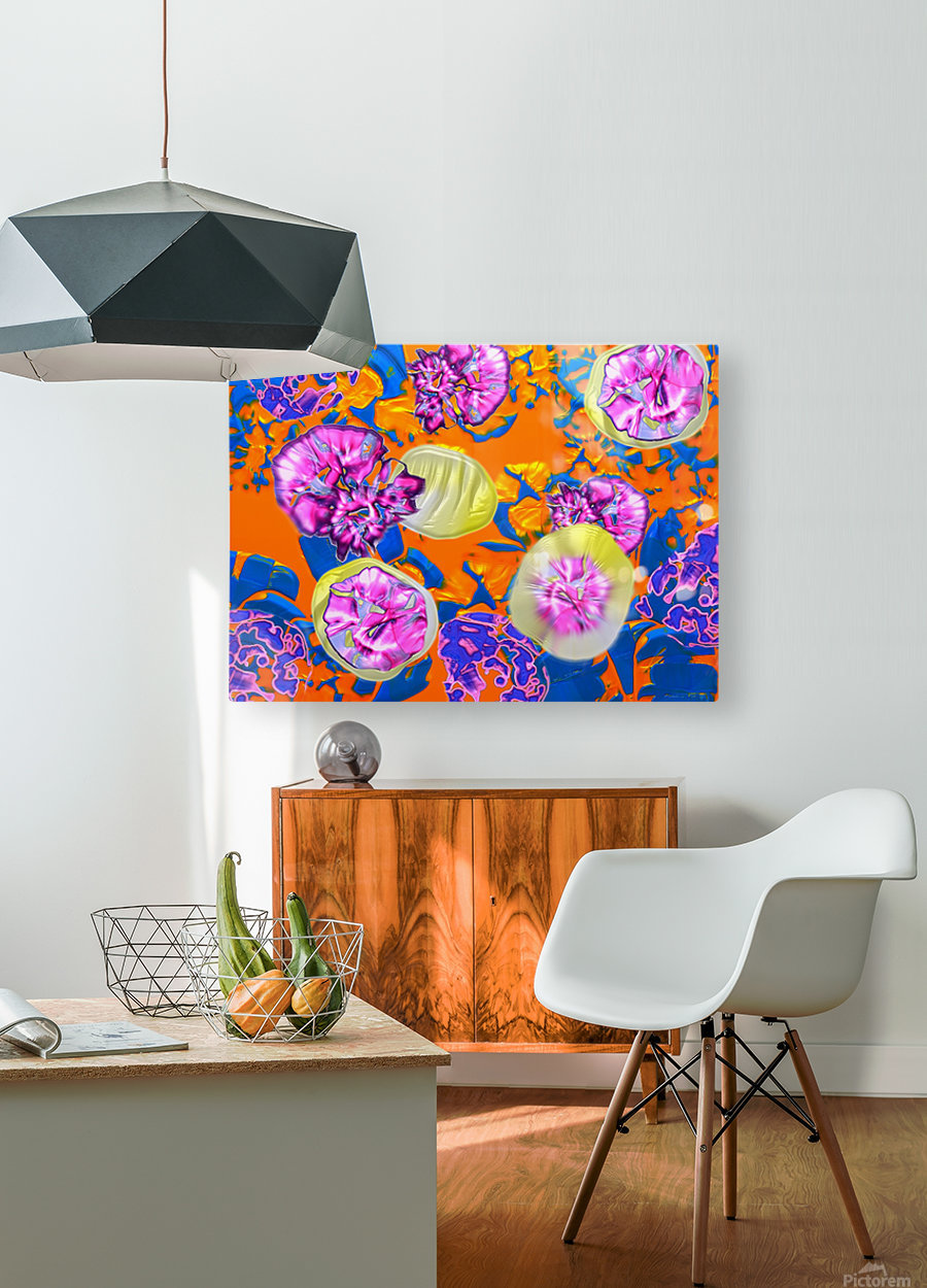 284  HD Metal print with Floating Frame on Back
