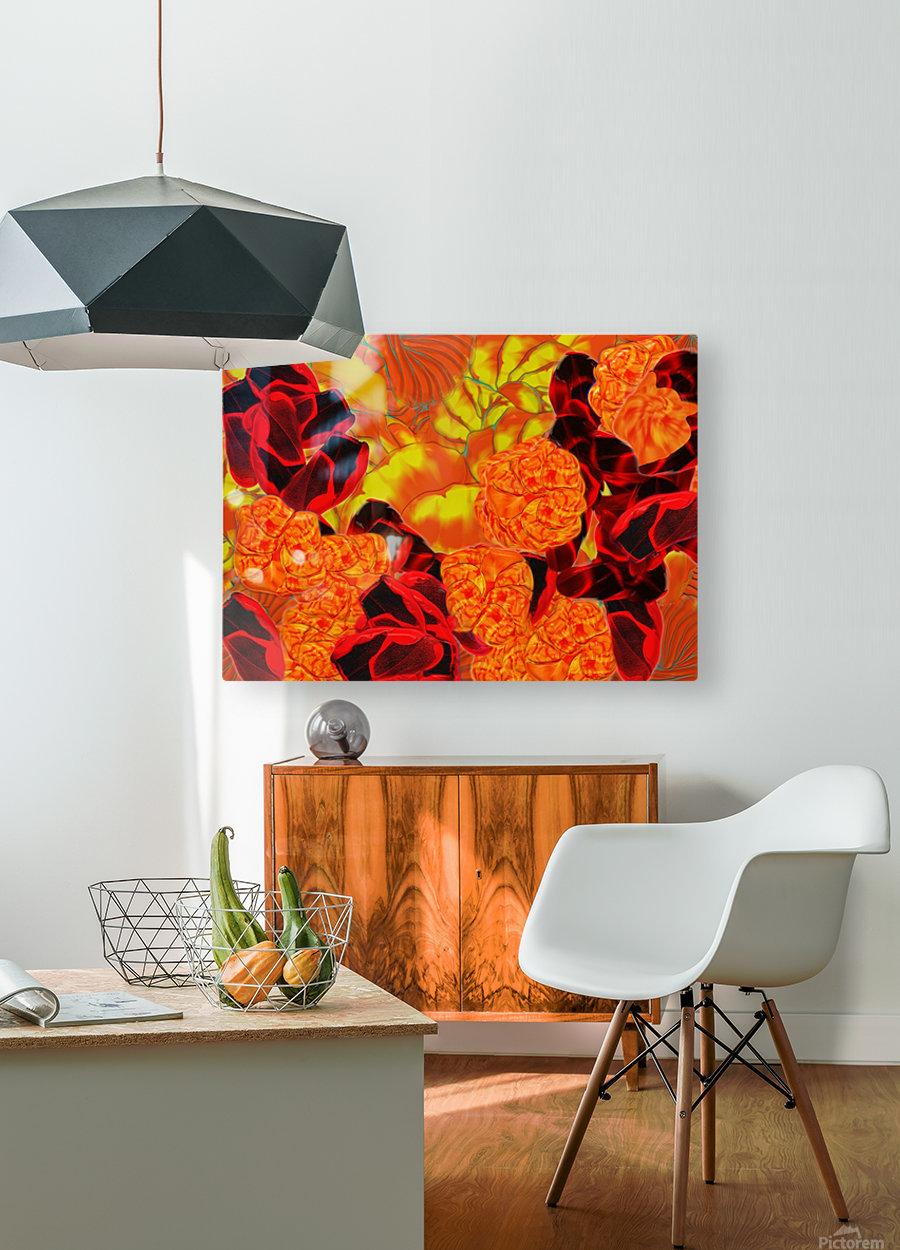 838  HD Metal print with Floating Frame on Back