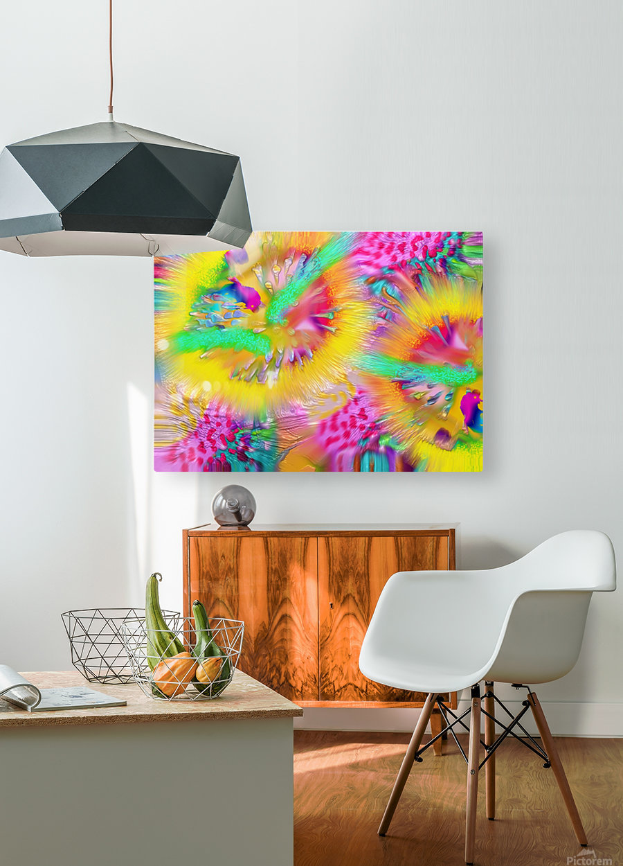 Ref: 855  HD Metal print with Floating Frame on Back