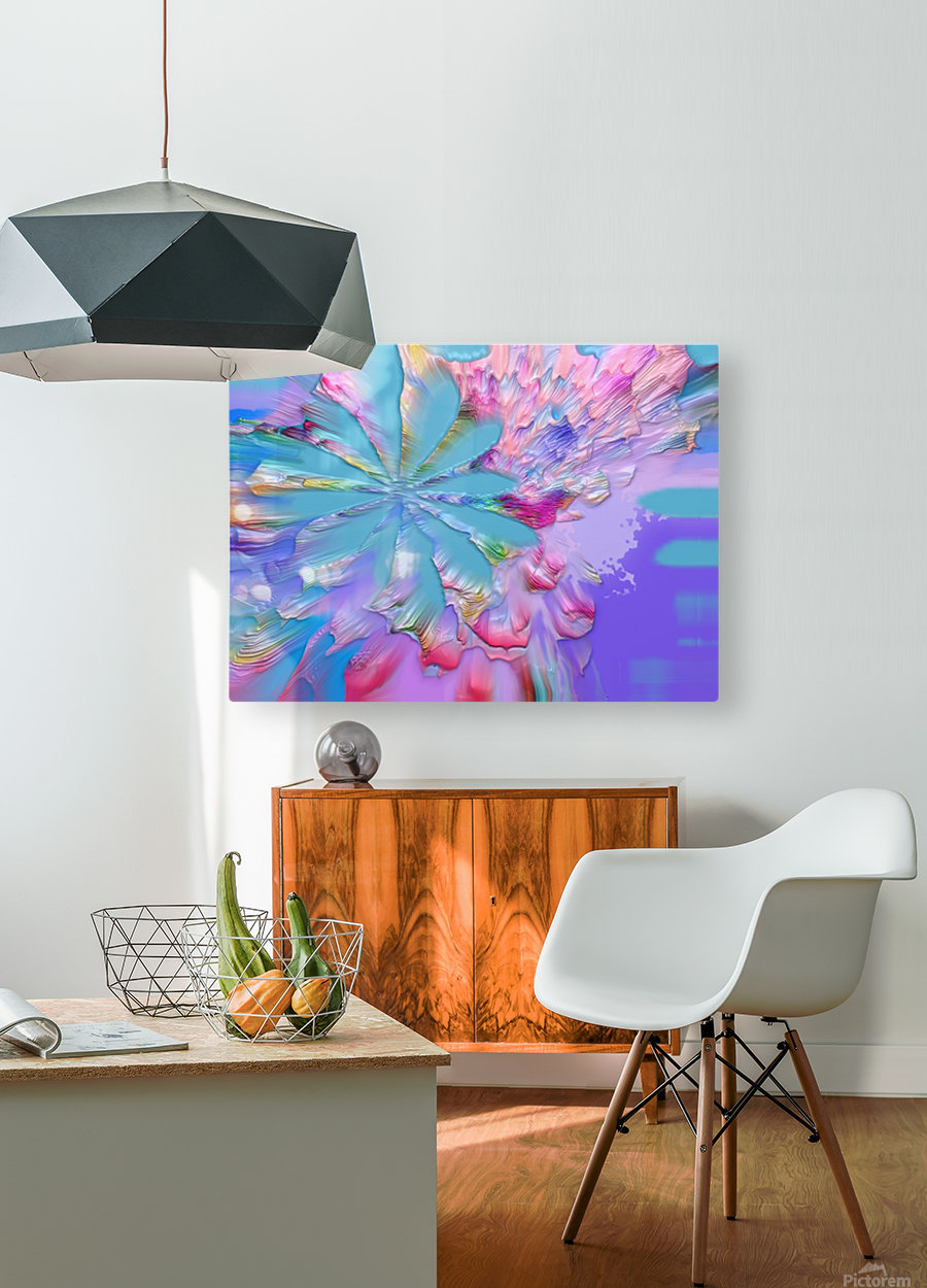 880  HD Metal print with Floating Frame on Back