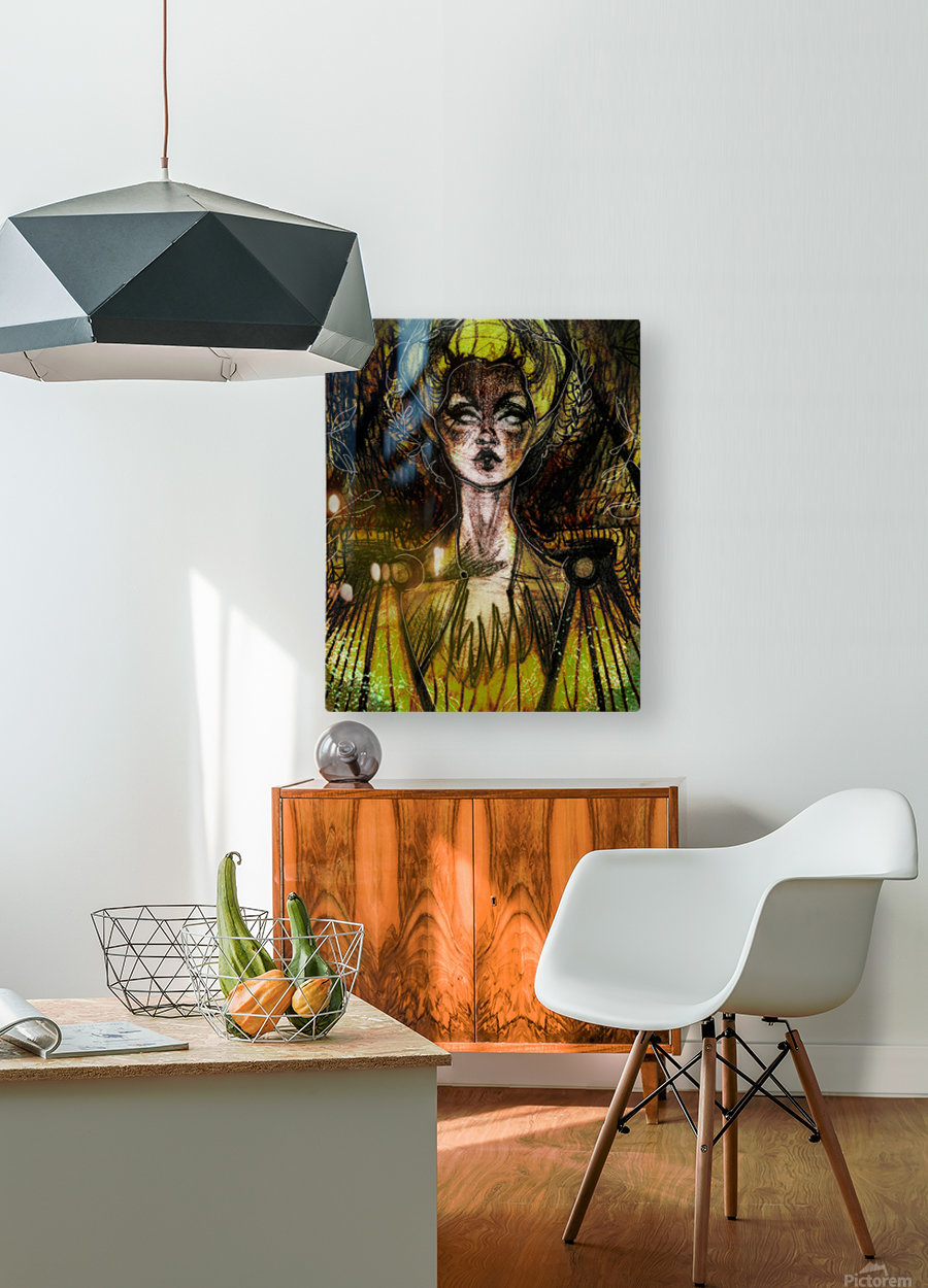 LA REVANCHE | 1  HD Metal print with Floating Frame on Back