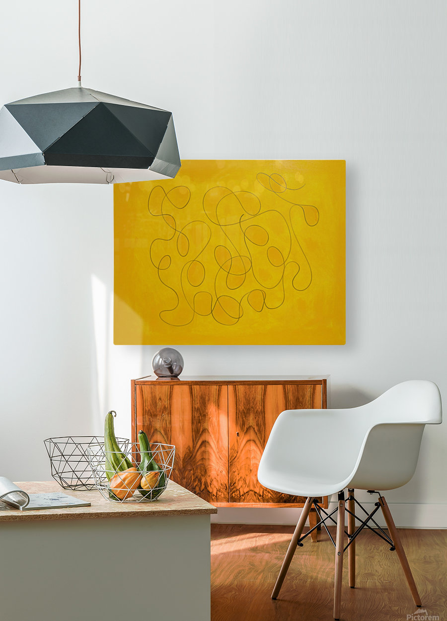 Universe Being Shy  HD Metal print with Floating Frame on Back