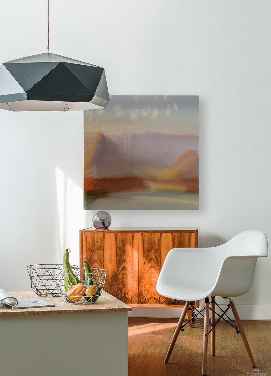 Monet I spiration  HD Metal print with Floating Frame on Back
