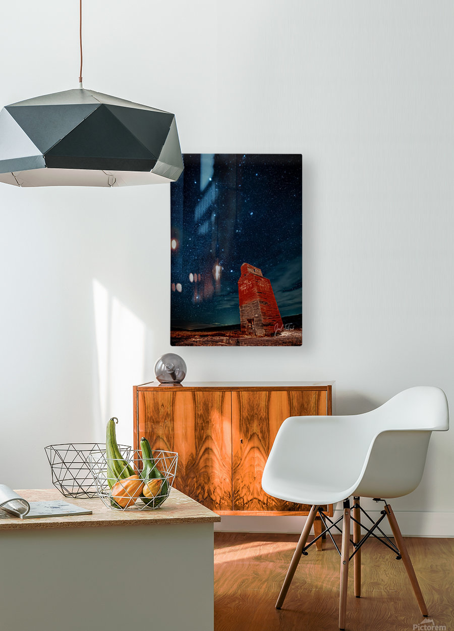 Dorothy Elevator Milky Way  HD Metal print with Floating Frame on Back