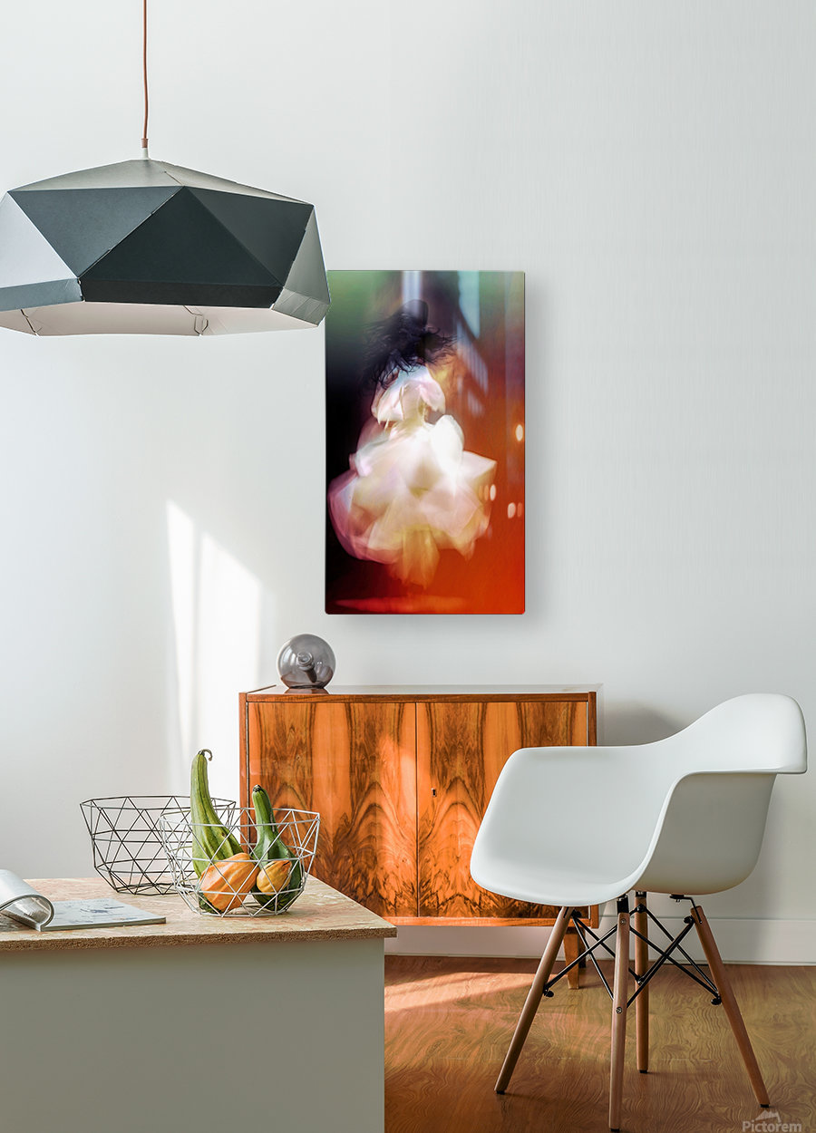 The Dance  HD Metal print with Floating Frame on Back