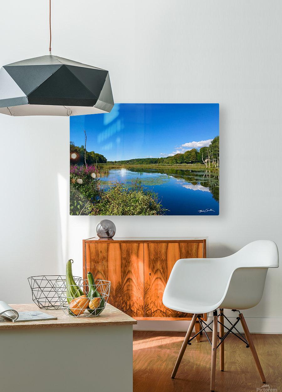 WarrenPond  HD Metal print with Floating Frame on Back