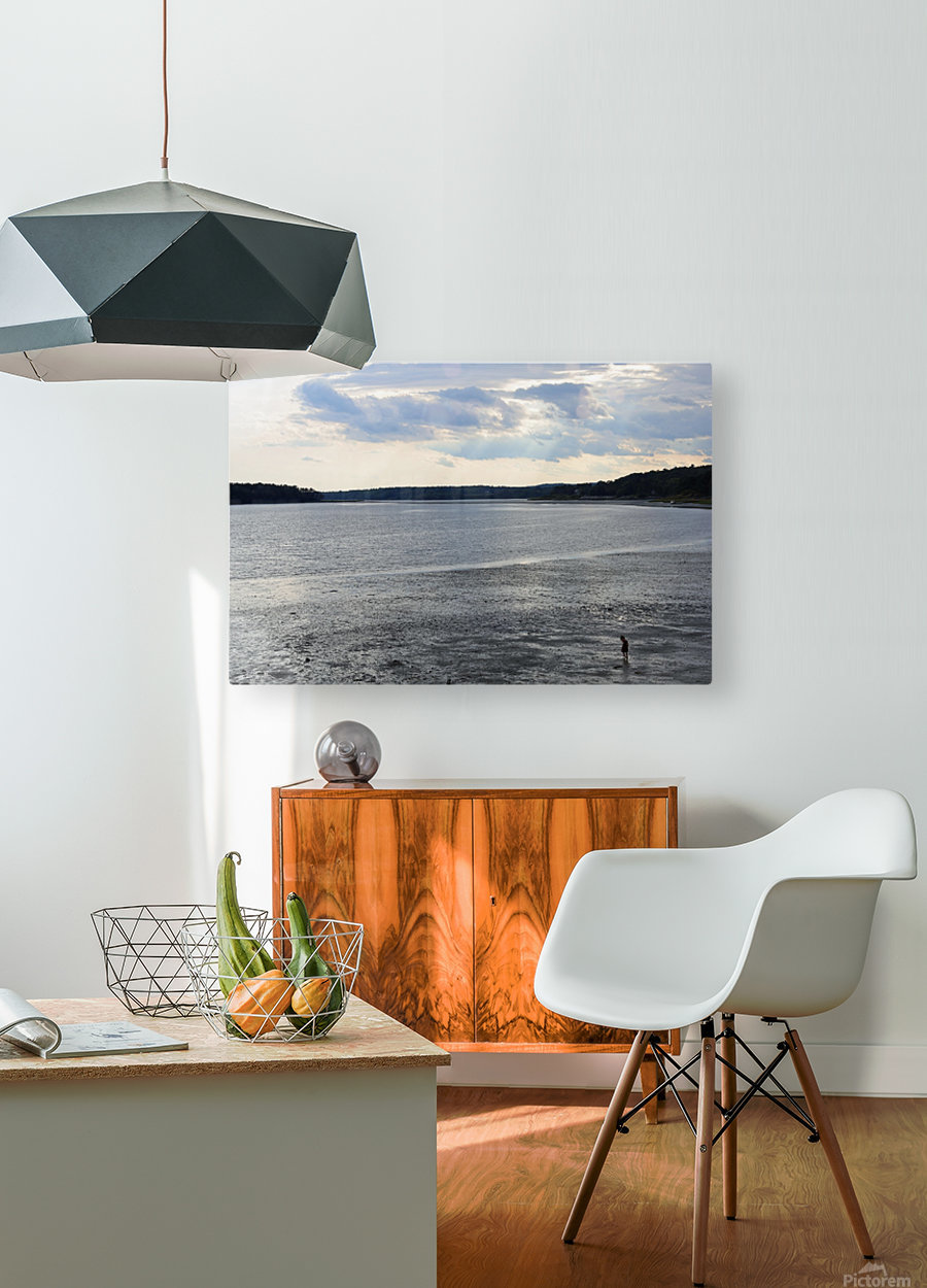 Oceans Wonder  HD Metal print with Floating Frame on Back