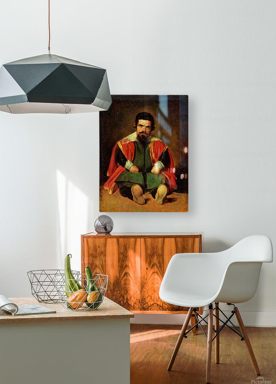 Don Sebastian de Morra  HD Metal print with Floating Frame on Back