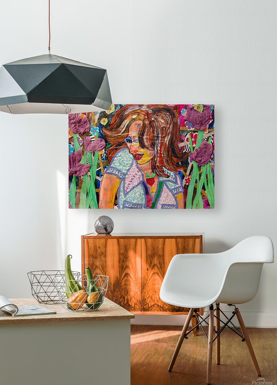 PAINTING120  HD Metal print with Floating Frame on Back