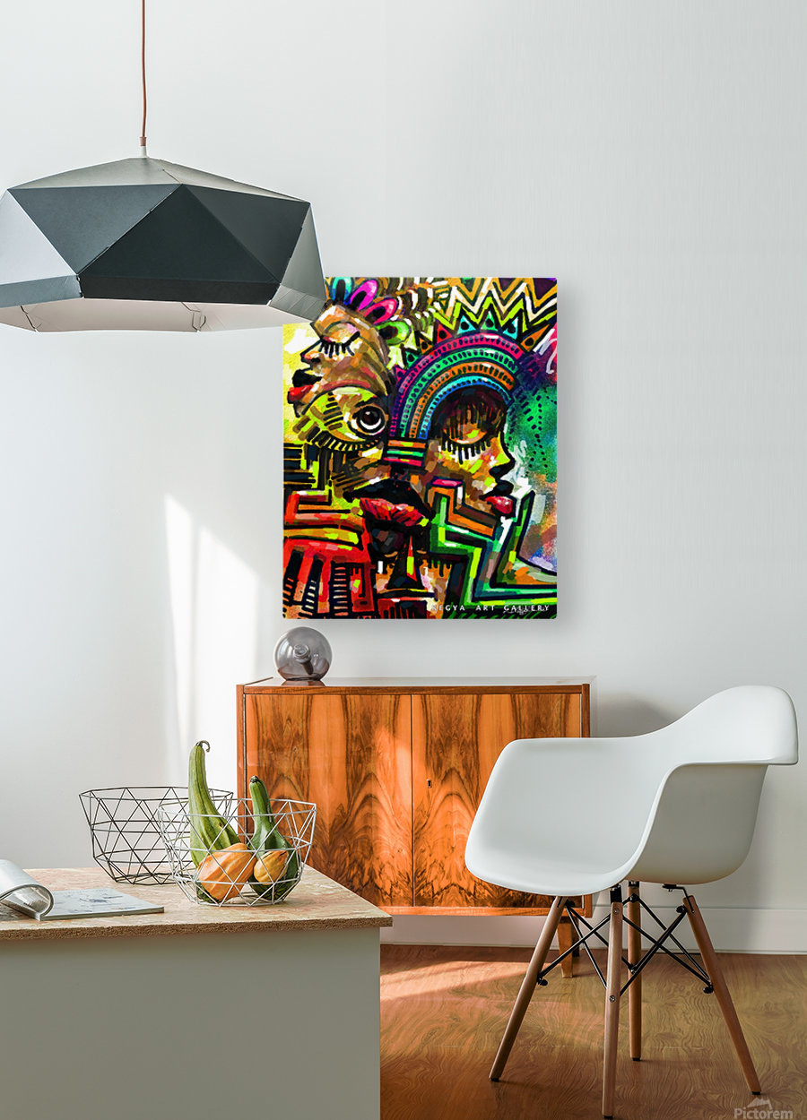 passion  HD Metal print with Floating Frame on Back