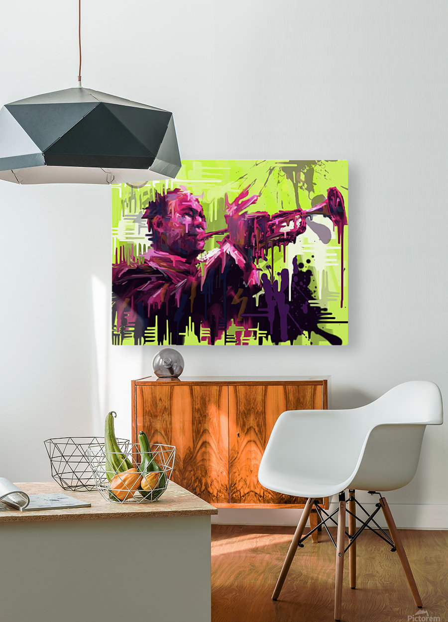 Untitled 2  HD Metal print with Floating Frame on Back