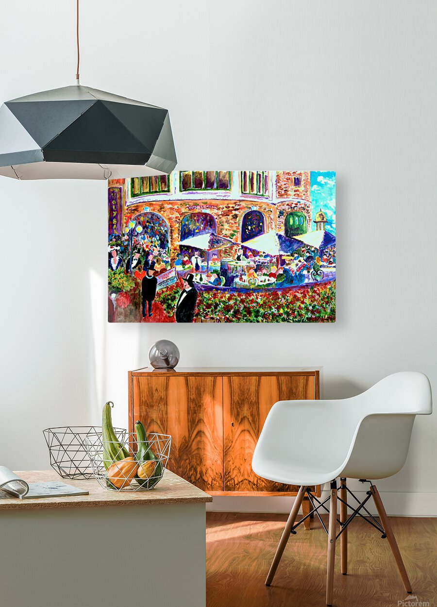 Piggy Bread  HD Metal print with Floating Frame on Back