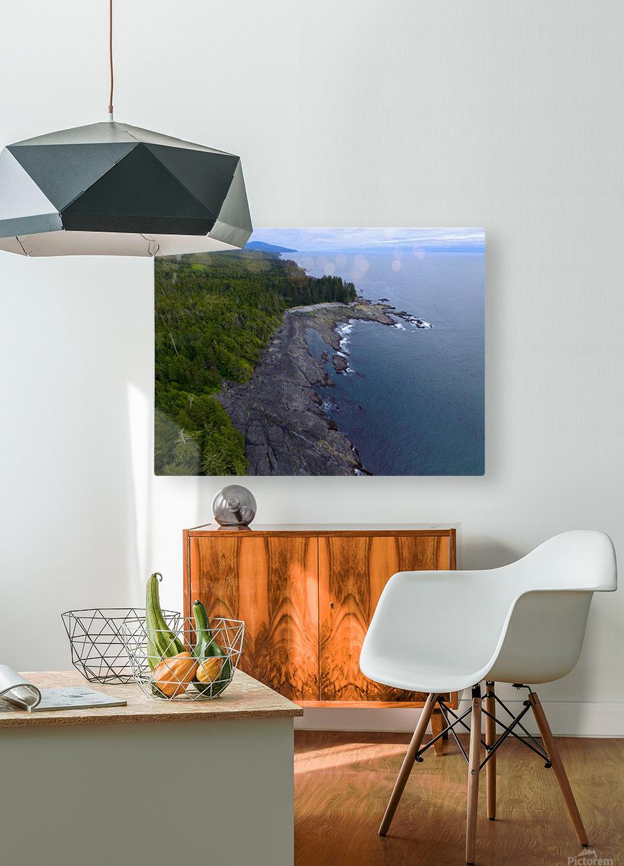 DJI_0091  HD Metal print with Floating Frame on Back
