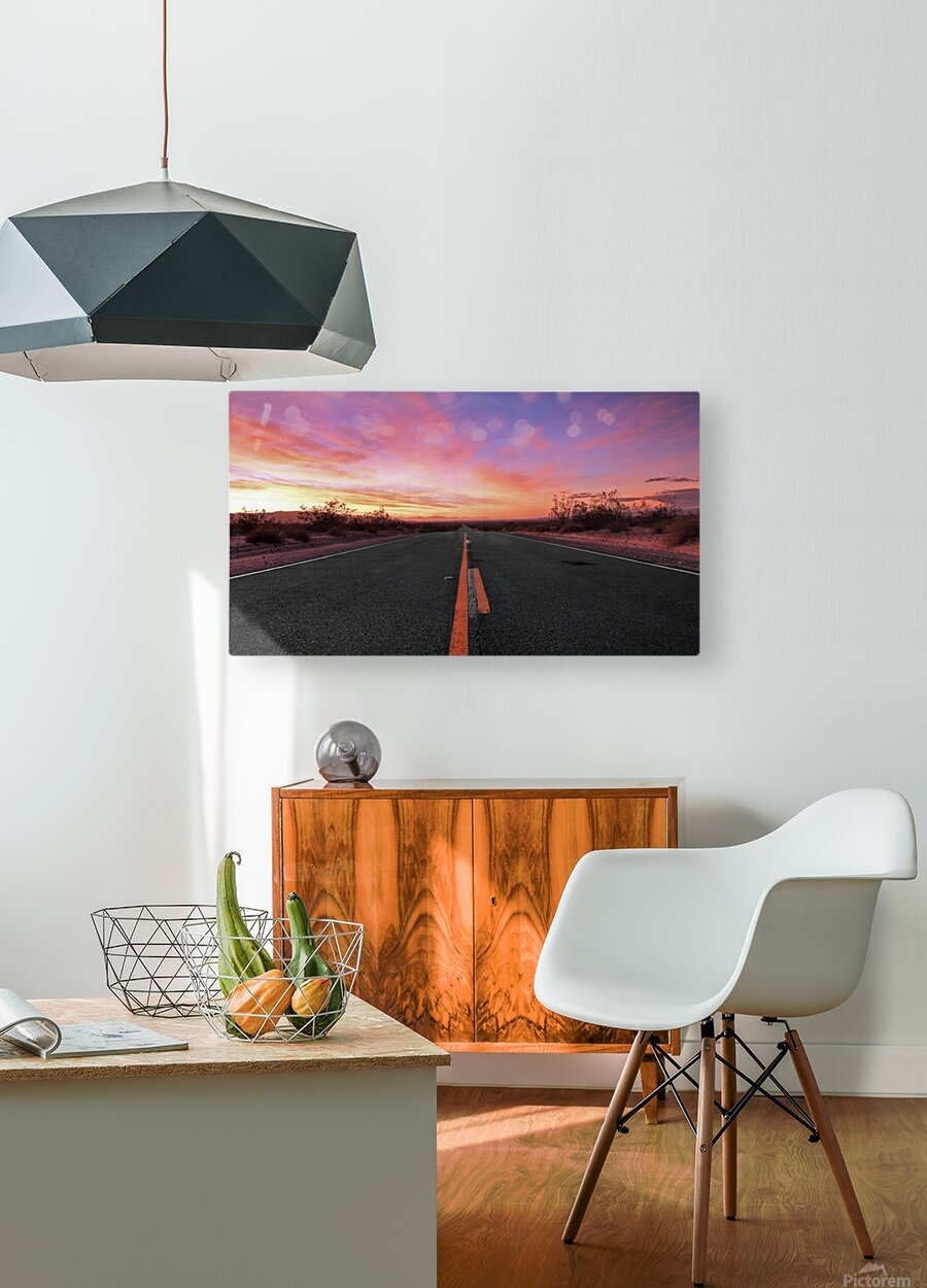 Coming home  HD Metal print with Floating Frame on Back