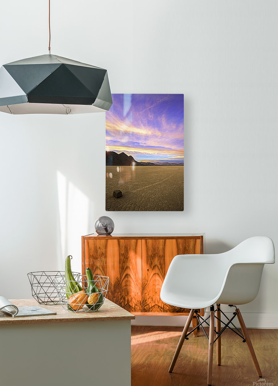 Mysterious World  HD Metal print with Floating Frame on Back