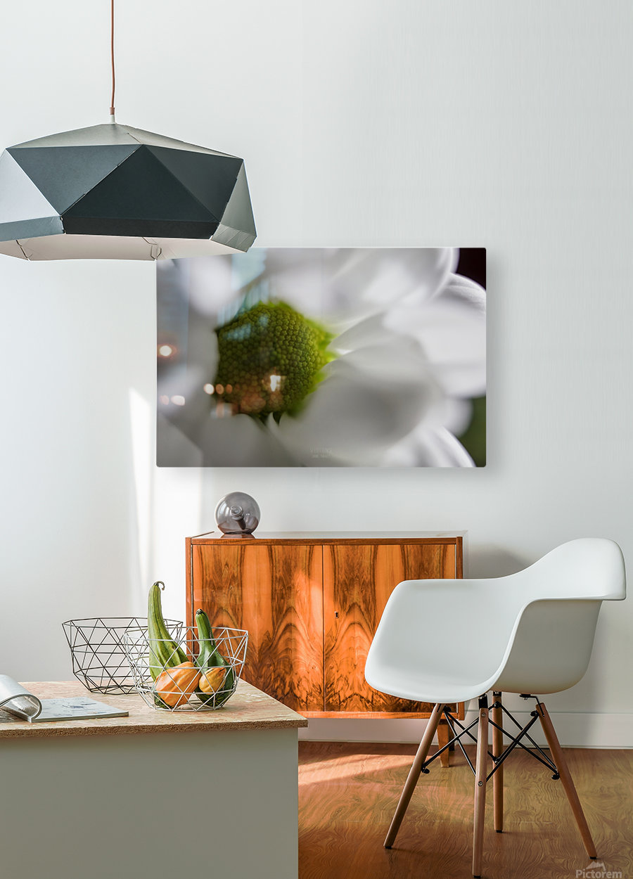 Purete  HD Metal print with Floating Frame on Back