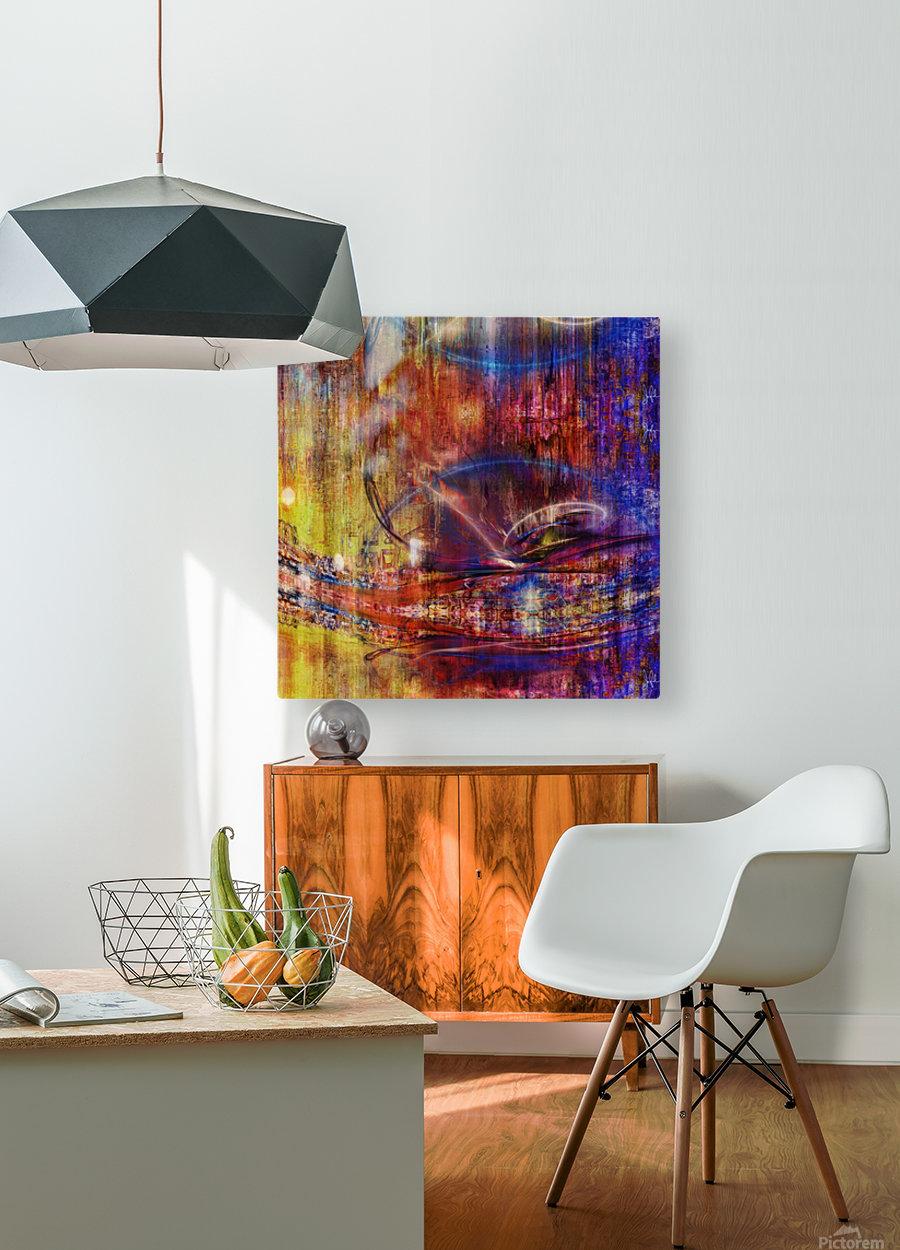 Calika (4)  HD Metal print with Floating Frame on Back