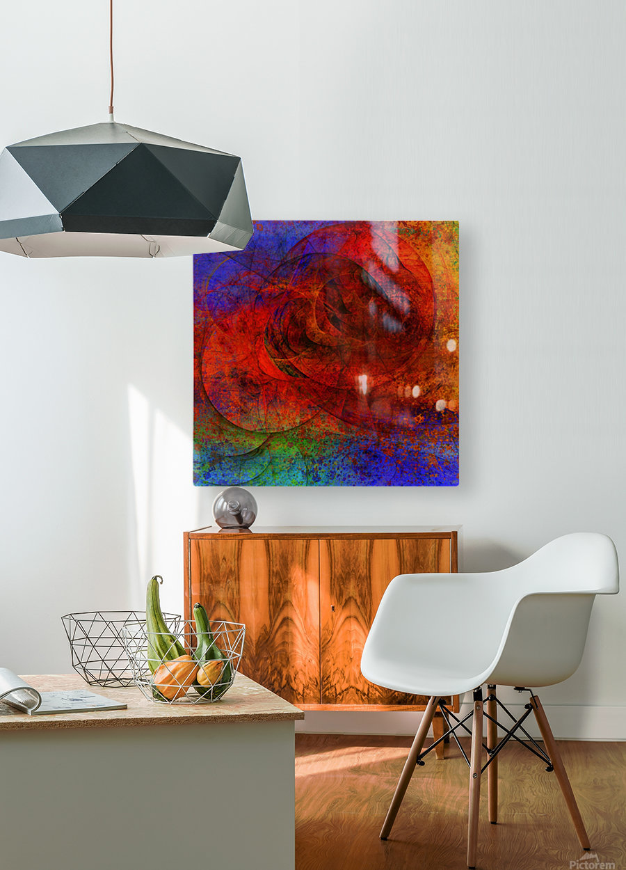 Solariz  by Jean-François Dupuis   HD Metal print with Floating Frame on Back