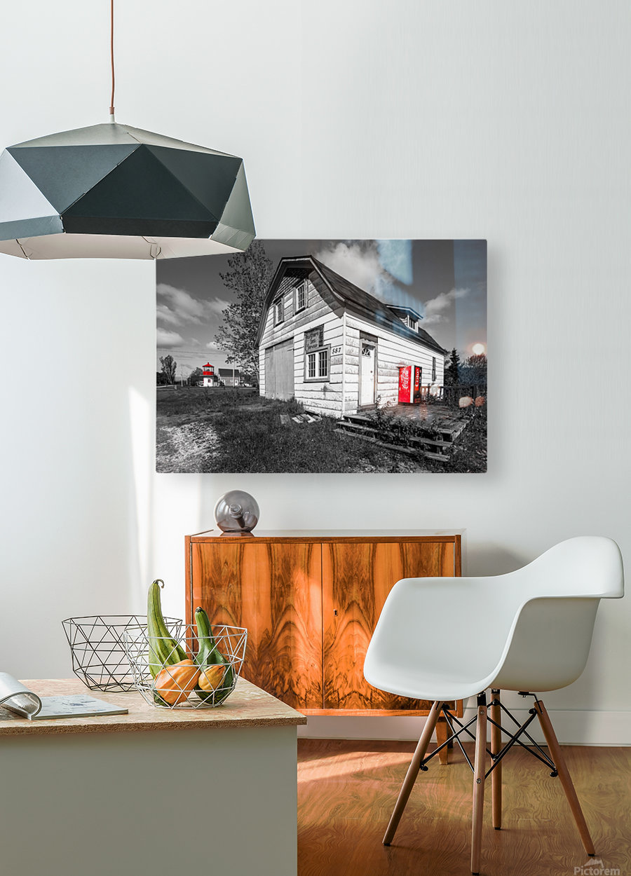 Northern Sea Services  HD Metal print with Floating Frame on Back