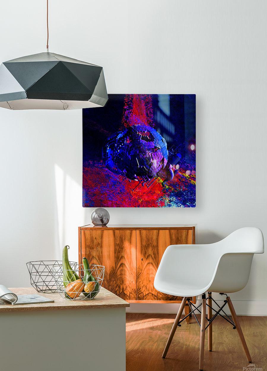 Zaurusia (149)  HD Metal print with Floating Frame on Back