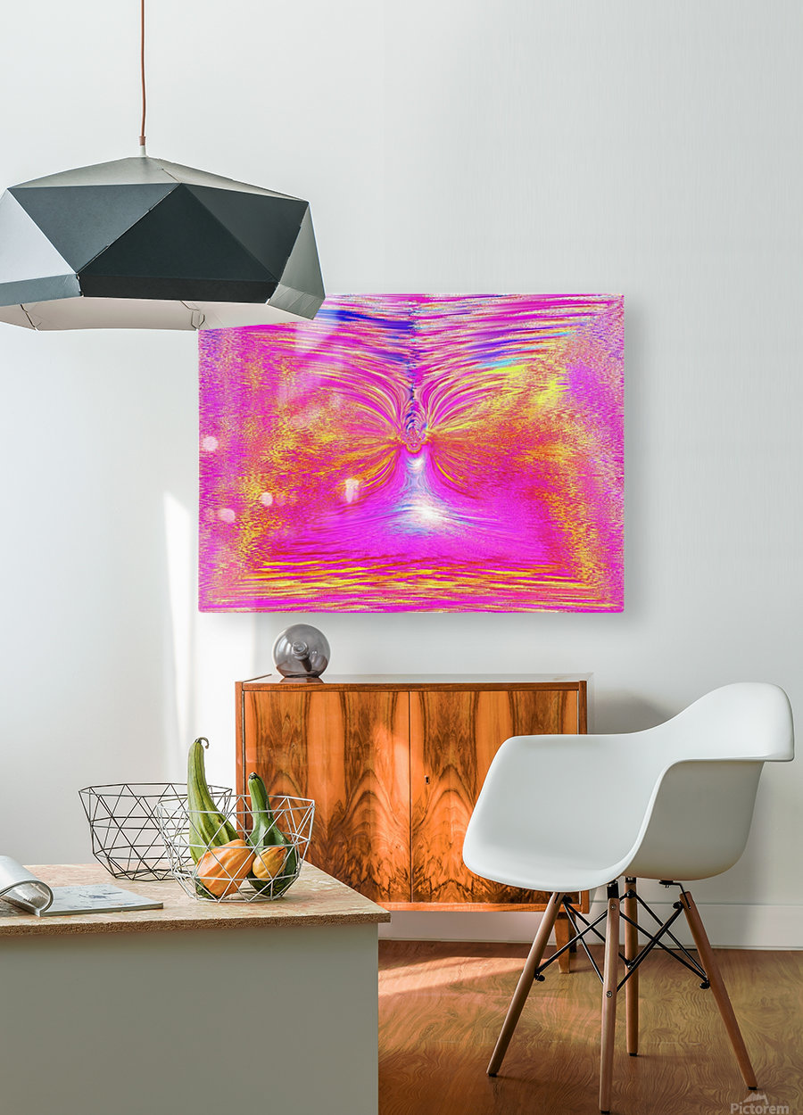 Angel Of Light 1  HD Metal print with Floating Frame on Back